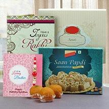 Joyful Rakhi Gifts: Rakhi to Singapore