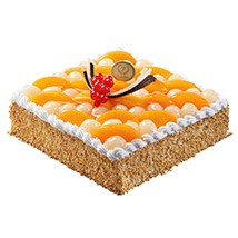 Savory Peach and Longan Cake: Fathers Day Gifts to Singapore
