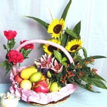 Sunshine Pleasure SGPR: Gift Basket to Singapore
