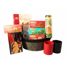 Tea Time Gift basket: Gifts to Spain