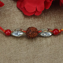Love For Rudraksha Rakhi SWE: