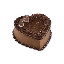 Chocolate Heart Cake: