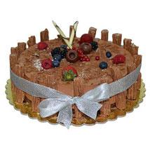 1 Kg Chocolate Flex Cake: Send Cakes to Ajman