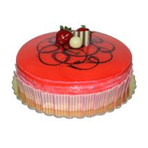 1 Kg Strawberry cake: Send Cakes to Ajman