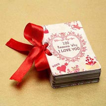 100 Reasons of Love Booklet: Valentines Day Gifts for Her