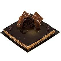 4 Portion Opera Cake: Send Birthday Cakes to UAE