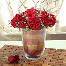 Arrangement Of Red Roses: Valentines Day Gifts for Her