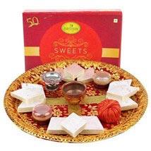 Deepavali Pooja Thali: Send Diwali Sweets to Dubai