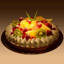 Fruit Tart: Send Cakes to Sharjah