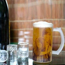 Funtime Personalize Beer Mug: Personalised Gifts Delivery in UAE