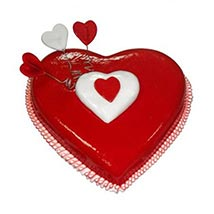 Heart Love Cake: Valentines Day Gifts for Her