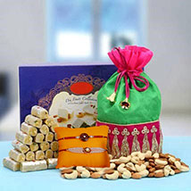 Indo Trendy Rakhi Hamper: Send Rakhi to Al Ain