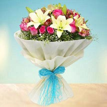 Joyful Bouquet: Send Flower Bouquets to UAE