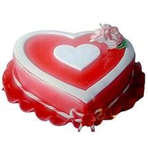 Marvelous Heart Shape Cake: