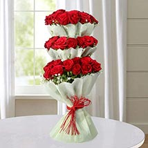 Multi Storied Roses: Valentines Day Gifts for Her