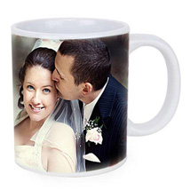 Personalized Couple Photo Mug: Personalized Gifts to Abu Dhabi