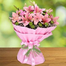 Pink Beauty: Flowers for Anniversary
