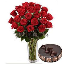 Pure Romantics: Birthday Flowers and Cakes to UAE