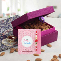 Purple Box Hamper: Send Rakhi to Abu Dhabi