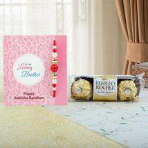 Rochers N Color Play Rakhi: Send Rakhi to UAE