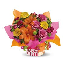 Rosy Birthday Present: Send Flowers for Wife to UAE