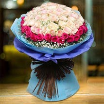 Royal Rose Bouquet: Flower Bouquets to UAE