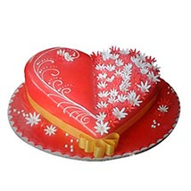 Spectacular Heartshape Cake: Valentines Day Gifts for Her