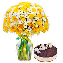 Sunshine Bouquet n Cake: Send Cakes to Sharjah