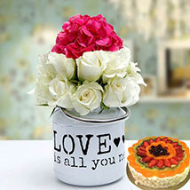 Unique Gift Combo: Birthday Flowers and Cakes in UAE