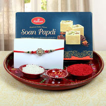 Aum Fancy Combo Rakhi: Rakhi for Brother - UK