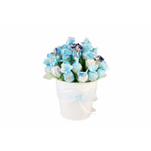 Blue sky sweet bouquet: Gifts to Leicester
