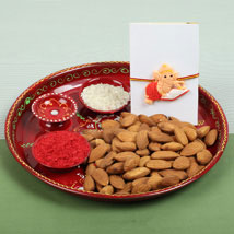 Celebration with Almonds: Rakhi for Kids to UK