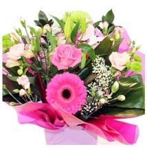 Designer Aqua: Christmas Flowers to UK
