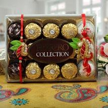 Ferrero Rocher Zardosi Bhaiya Bhabhi Rakhi: Rakhi to Nottingham