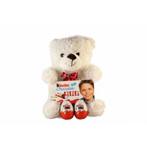 Kinder Surprise Teddy: Anniversary Gifts to UK