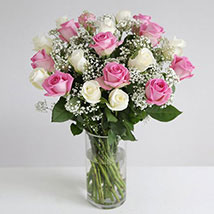 Pastel Fairtrade Roses: Anniversary Gifts to UK