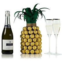 Prosecco Pineapple For Her: Valentines day