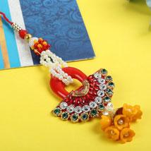 Rajwadi Cherry Diamond Lumba: Send Rakhi to Leeds