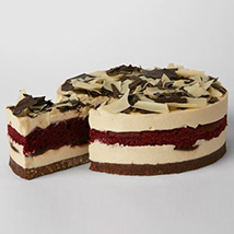 Simply Red Velvet Cheesecake: Gifts for Anniversary in UK