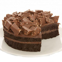 Swiss Alps Fudge Cake: Gifts for Anniversary in UK