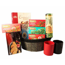 Tea Time Gift basket: Send Gifts to Leeds