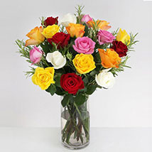 Vibrant Beauty Bouquet: Christmas Flowers to UK