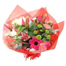 Wrapped to Charm: Flower Bouquets to UK