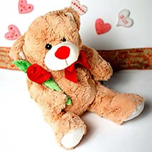 Accept my Love Teddy Bear: Send Valentine Day Gifts to Boston
