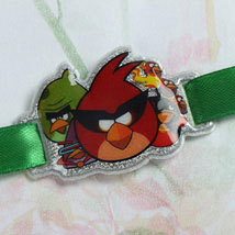 Angry Birds Gang Rakhi: Send Rakhi to Detroit