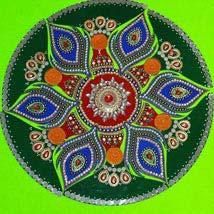 Artful Rangoli: Diwali Gifts New York