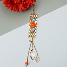 Bejeweled Bangle: Send Rakhi to Charlotte