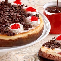 Black Forest Cheesecake: Cake Delivery in Los Angeles