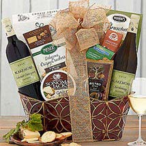 Brick Lane Wineworks Double Delight: Christmas Gift Baskets USA