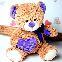 Brown Lovable Teddy Bear: Send Valentine Gifts to Santa Clara